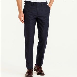 J.Crew Bowery Slim Pants Blue Size W29/L32